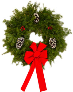 Christmas Wreaths & Christmas Garlands